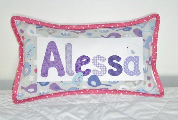 Sandra Healy Designs Personalised Name Cushion