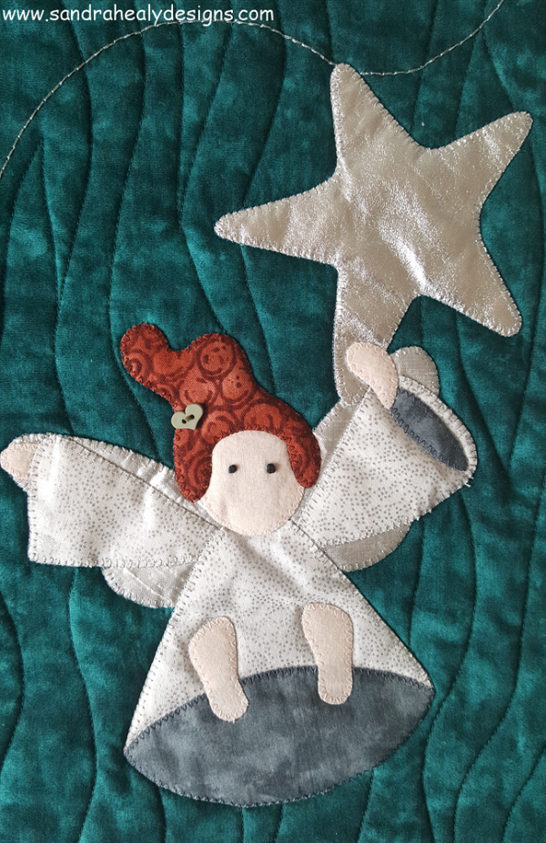 Sandra Healy Designs Christmas Angel Wall Hanging Angel